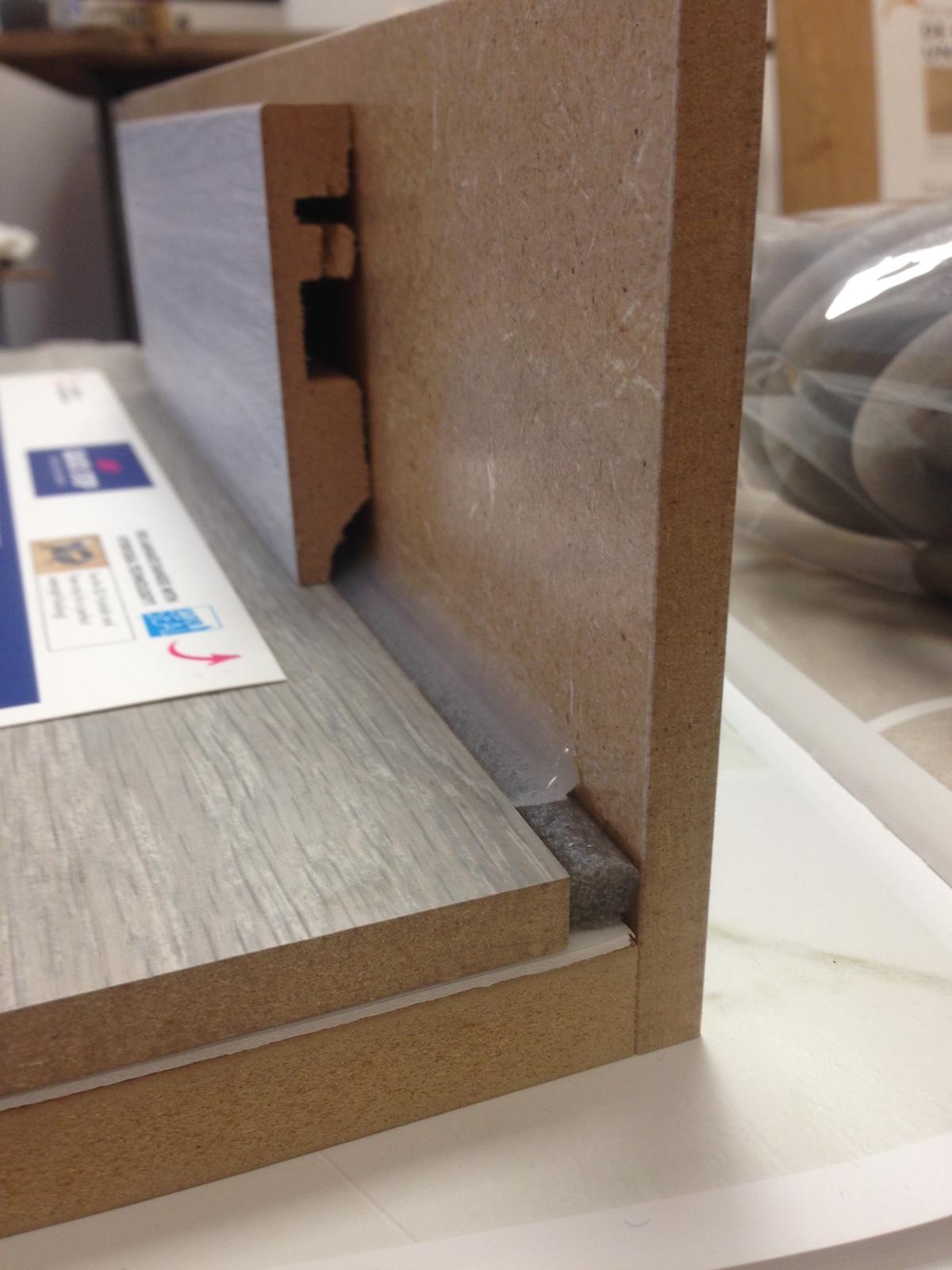 Quick step parquet flottant accessoire nefoamstrip20 for Parquet joint de dilatation