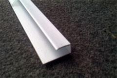 quick step parquet flottant accessoire neenp9silvme270 quick step profile de bordure aluminium. Black Bedroom Furniture Sets. Home Design Ideas