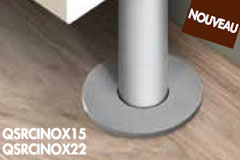 QUICK-STEP ROSACE 22 MM - INOX