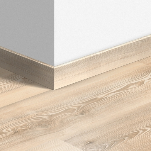 QUICK-STEP PLINTHE (2400*58*12) - MDF + DECOR STRATIFIE 2400 avec bord rectangulaire