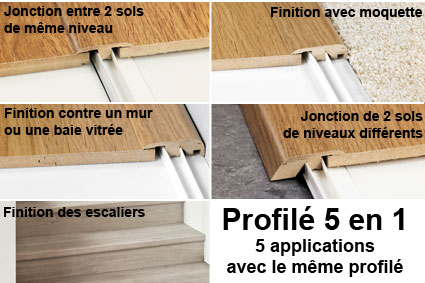 PROFILÉ INCIZO REPLAQUÉ QUICK-STEP