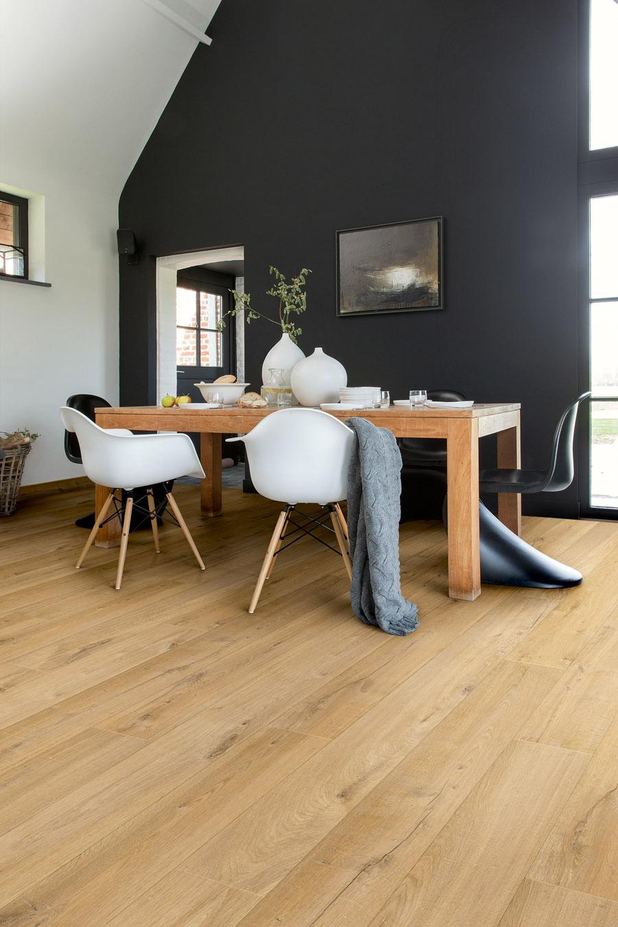 quick step parquet flottant impressive ch ne tendre naturel monolames im1855. Black Bedroom Furniture Sets. Home Design Ideas