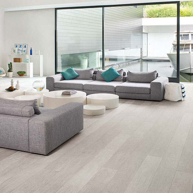 pose quick step uniclic parquet flottant quickstep largo. Black Bedroom Furniture Sets. Home Design Ideas