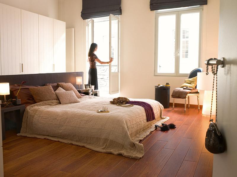 quick step parquet flottant perspective merbau planches. Black Bedroom Furniture Sets. Home Design Ideas